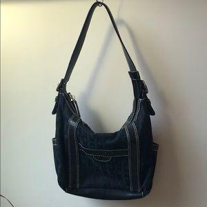 FOSSIL Black Shoulder Bag Purse